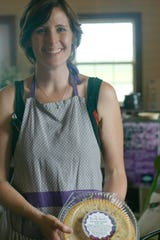 Laura McReynolds of New Life Lavender and Cherry Farm.