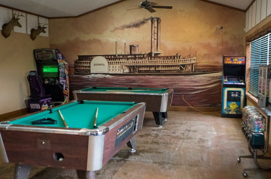 A view of the arcade at the new location of The BackYard Street Food & Pub off of Mane St. in West Monroe, La. on June 5. Owner Mitch Bratton will add more games in the arcade as well as fixing the mini-golf course. Bratton intends on opening the restaurant portion next week Friday.