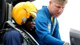Blue Angel Video of James Shaw Jr. in the F-18 Hornet