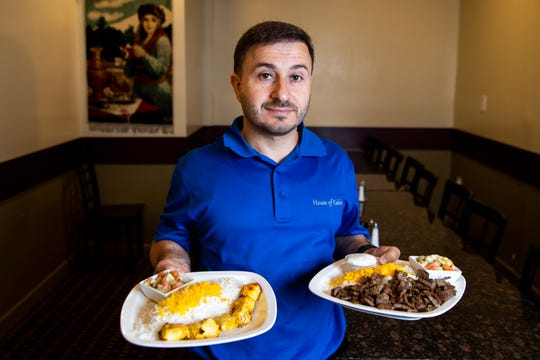 House of Kabob owner Hamid Hasan posed for a portrait at House of Kabob Wednesday, June 5, 2019, in Nashville, Tenn.