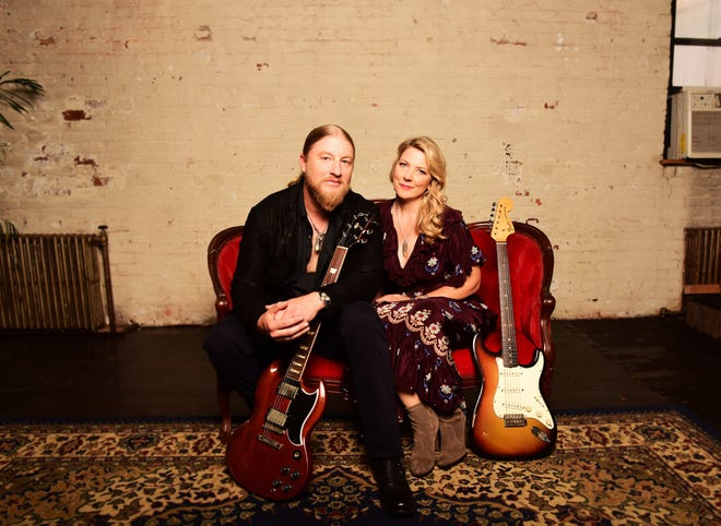 Derek Trucks and Susan Tedeschi of the Tedeschi Trucks Band kick off their U.S. tour June 28, 2019, in Jacksonville, Florida, Trucks' hometown.
