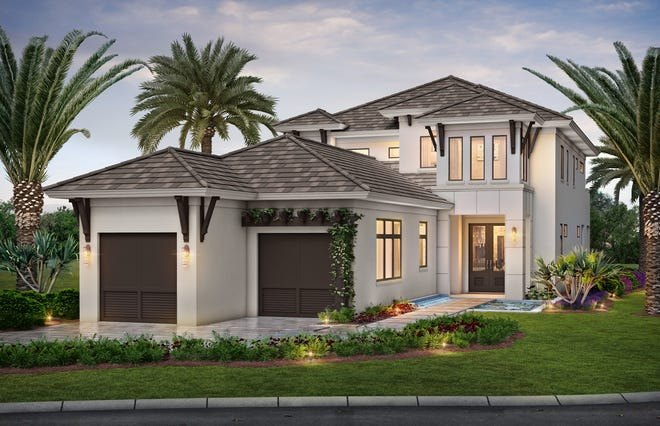 Theory Design has completed the preliminary interior design for the furnished Sonoma model in Isola Bella at Talis Park.