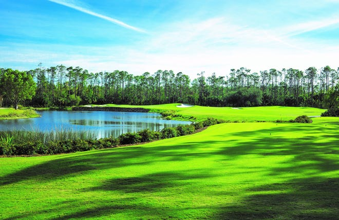 Naples Lakes Country Club's golf course has been named the top golf course in Collier County.