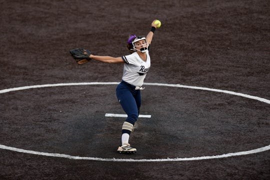 Immaculate Conception defeated Ramsey 5-2 in the semifinals of the Tournament of Champions at Seton Hall University on Tuesday, June 4, 2019. Victoria Sebastian pitches for Ramsey.