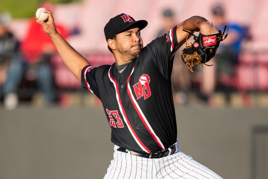 New Jersey Jackals starting pitcher Eduard Reyes earned his second win of the 2019 campaign over the Trois-Rivieres Aigles on May 24th.