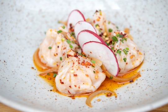Ventanas at the Modern in Fort Lee on Wednesday, June 5, 2019. Lobster dumplings.