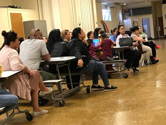 Parents of the Academy of St. James met Tuesday evening to discuss a way to stop the merging of St. James and St. Brendan schools.
