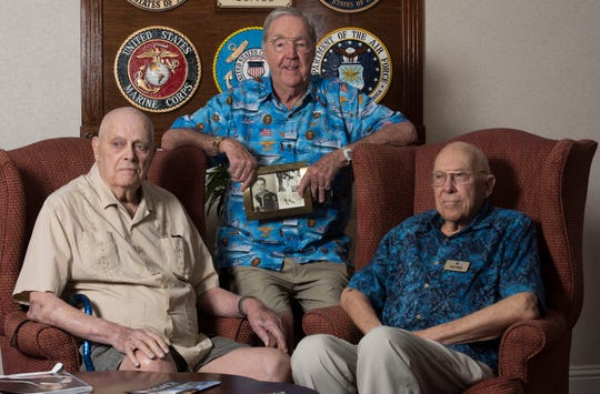 World War II veterans Jim Liles, Charley Pritchett and Al Pulford were already serving at various locations far from the beaches of Normandy when word came down about the attack June 6, 1944, that changed the course of the war they would be a part of for the next year.
