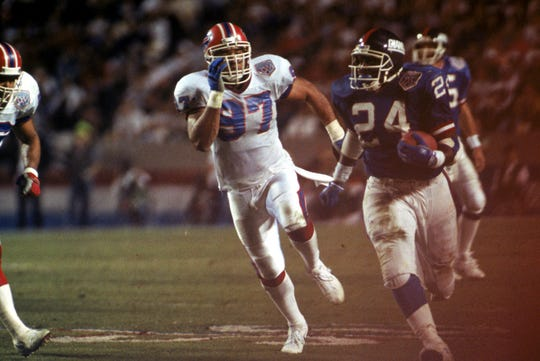 Before he shined with the New York Giants, Ottis Anderson played for the Cardinals.