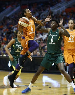 Guard Yvonne Turner will be away from the Phoenix Mercury later this month to play for Hungary at the EuroBasket tournament.