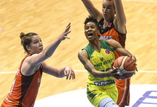 Yvonne Turner has helped to lead Hungarian pro team Sopron to consecutive EuroLeague final four appearances.