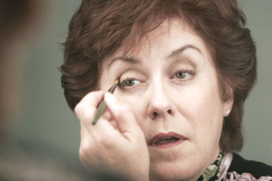 "Broadway actress and Valley native Judy Kaye in the dressing room before a 2007 performance of ""Souvenir"" with Arizona Theatre Company."