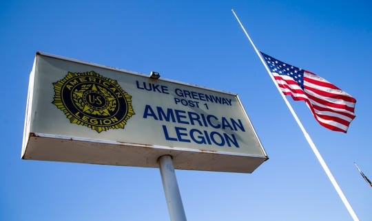 The 100-year-old Luke-Greenway American Legion Post 1 was one of the three original American Legions in the United States.  Phoenix is now considering leveling the building.
