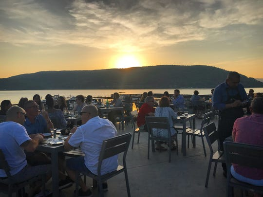 Dine by the river at Fin and Brew in Peekskill.