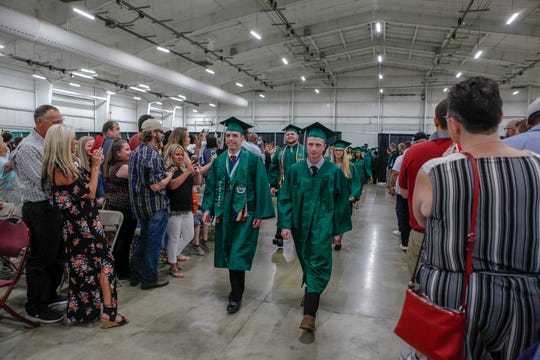 York County School of Technology graduation, Tuesday, June 4, 2019.John A. Pavoncello photo