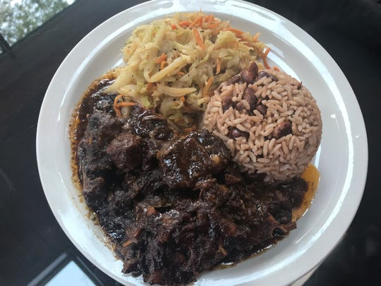 Caribbean Heritage specializes in oxtails.