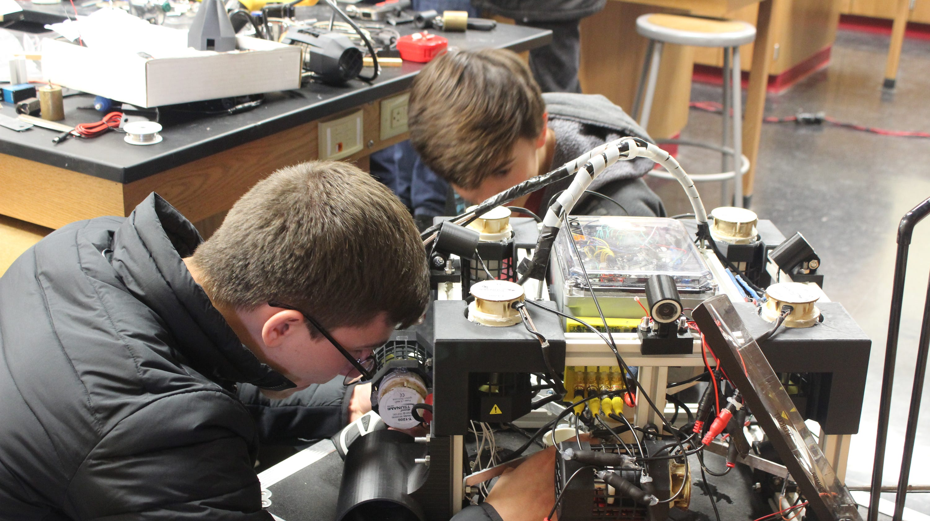 Oostburg robotics team going to international competition in