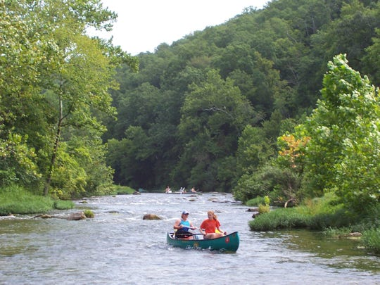 The North Fork of the White River is a popular paddling destination.