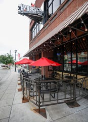 Sports fans will be sure to pack Harbell's on Park Central West during the big game.