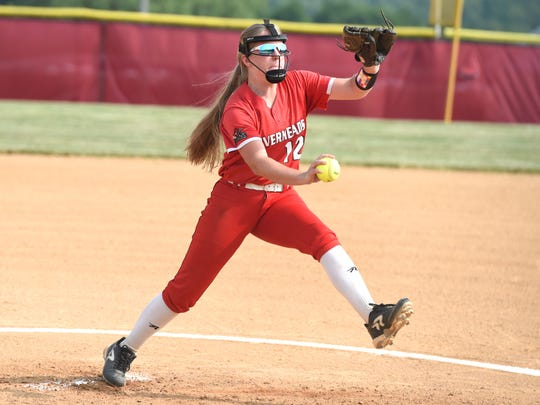 Emily Walters got the complete-game win for Riverheads Tuesday in the Class 1 state quarterfinals.