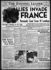 News of the D-Day invasion reaches Staunton readers.