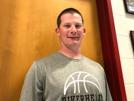 Preston Woods is ready for his first varsity head coaching job, taking over the Riverheads girls basketball program.