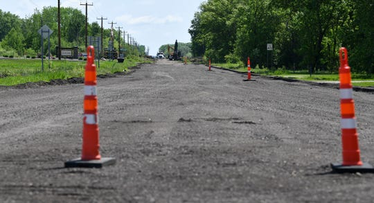 Work continues Wednesday, June 5, on 33rd Street South in St. Cloud.