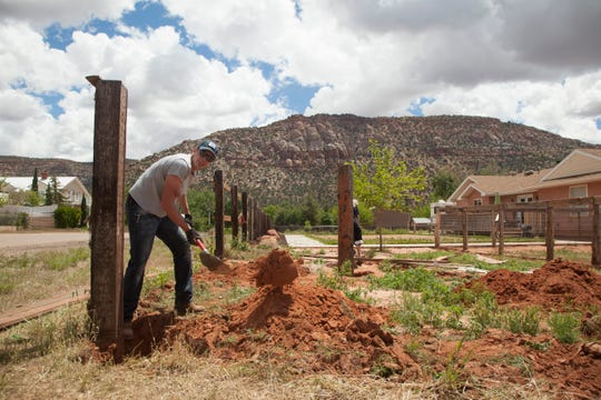 Residents of Hildale and Colorado City, Ariz. work to beautify their town while balancing the stresses of population growth Thursday, May 30, 2019.