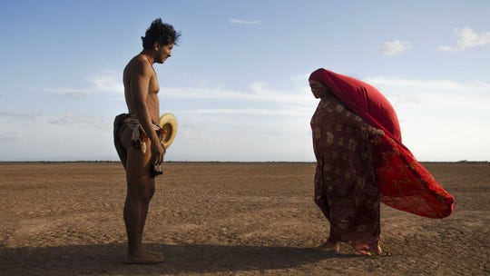 "José Acosta and Natalia Reyes star in ""Birds of Passage."""