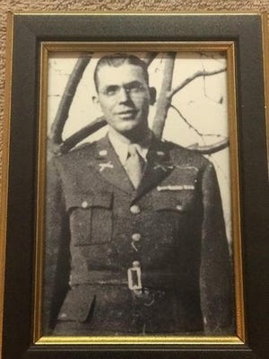 "1st Lt. William ""Howard"" Shelfer served in World War II from 1940 to 1944. His leadership earned him a Bronze star and a Purple Heart with two Oak Leaf Clusters."