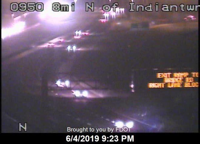 A fatal crash blocked the I-95 North ramp to SE Bridge Road in Hobe Sound on Tuesday.