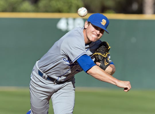 UC Santa Barbara pitcher Shea Barry, a Simi Valley High graduate, was picked by the Houston Astros in the 22nd round of the MLB draft.
