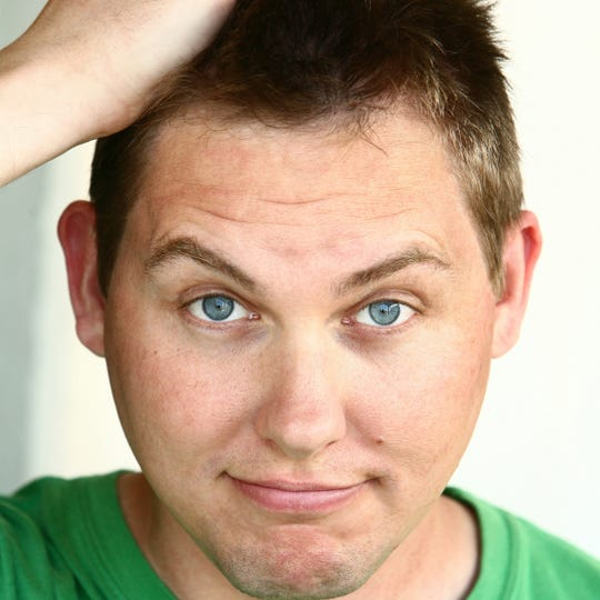 Tom Clark is one of four comedians set to perform at Comedy on the Hill 8 p.m. June 8  at the Hillcrest Center for the Arts.