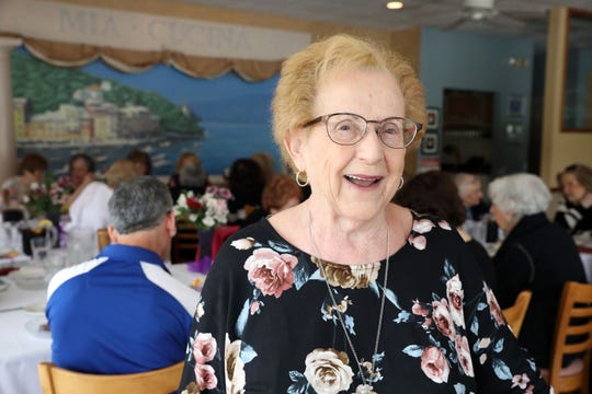 Longtime volunteer leader Betty Meisler, who was selected as one of the state's Senior of the Year honorees, at a party in her honor at Mia Cucina in Blauvelt June 5, 2019.