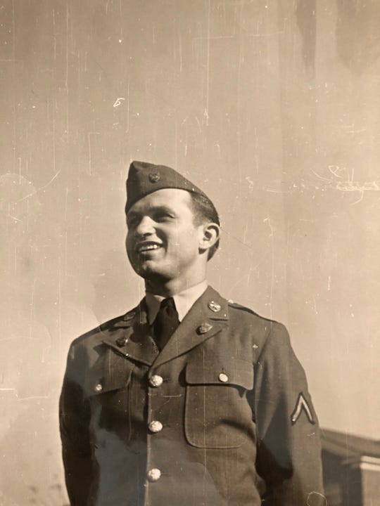 Albert Popick served in the Army during World War II. He turns 102 years old on the 75th anniversary of D-Day.