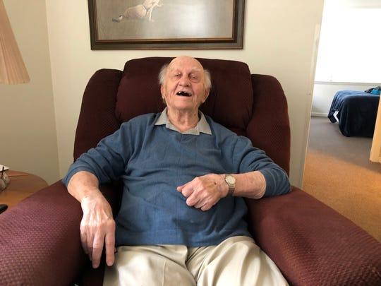 Albert Popick turns 102 years old on June 6.