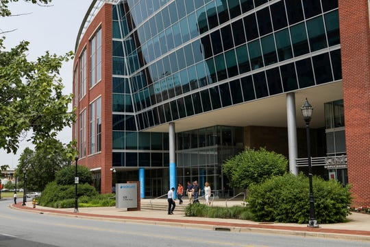 Barclays announced Wednesday that 500 workers would be moved out of its Wilmington offices.