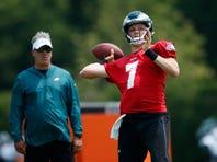 Philadelphia Eagles practice: Nate Sudfeld shines, DeSean Jackson among absent