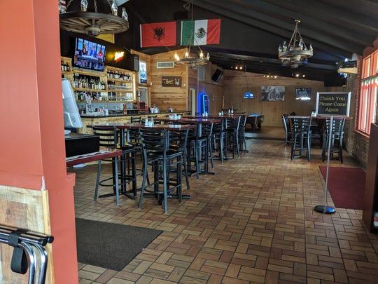 Inside Benito's in Vernon.