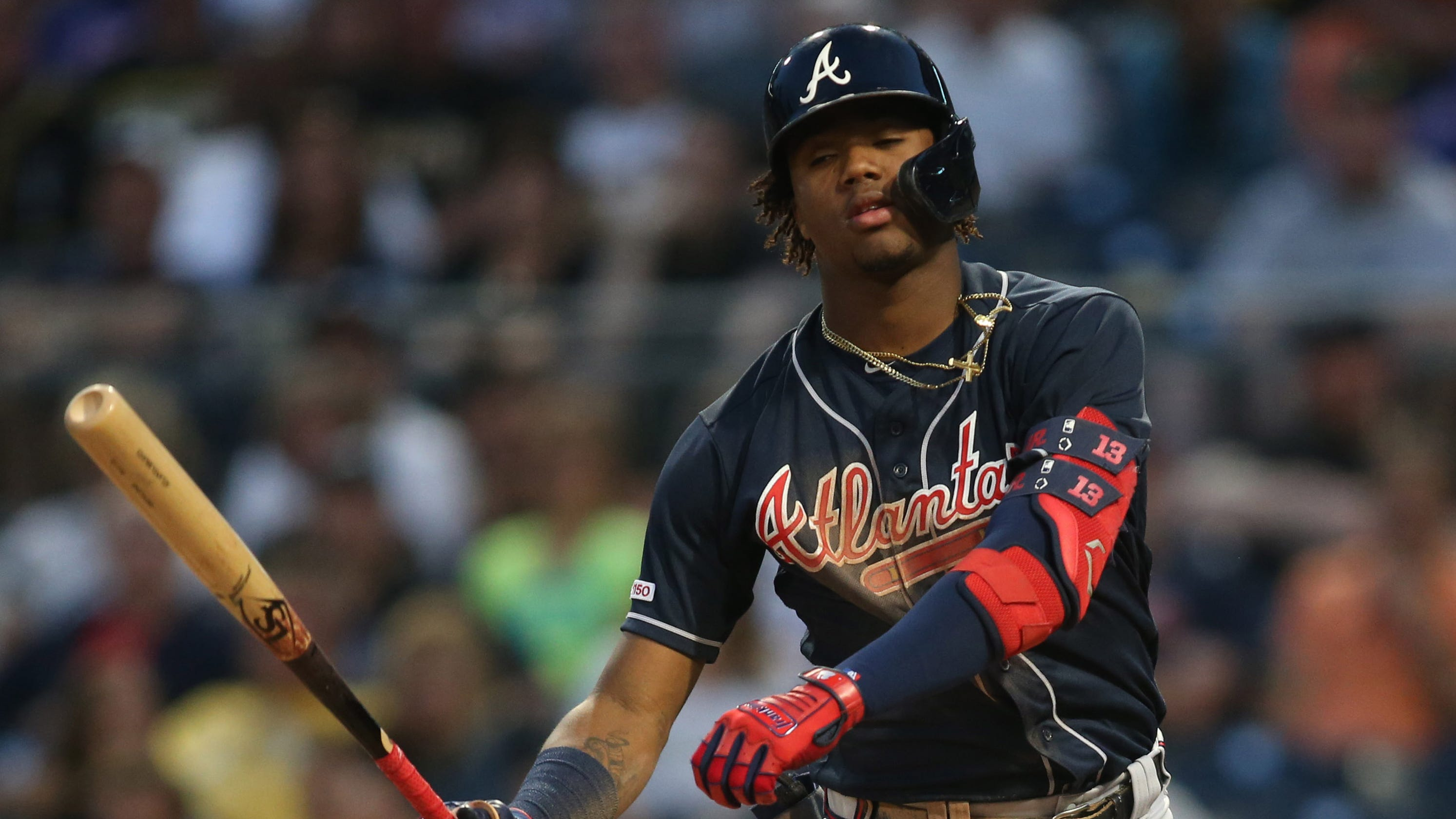 MLB: Broadcaster Rips Ronald Acuna Jr. For Jewelry After