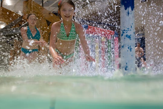Kids love to splash, play and cool off at the pools in Dunes Village Resort.