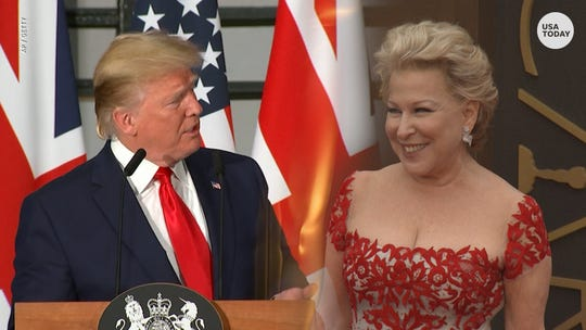 President Donald Trump slammed actor and singer Bette Midler on Twitter after she apologized for sharing a fake quote attributed to Trump.