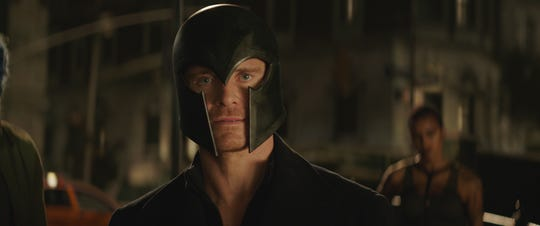 "Magneto (Michael Fassbender) is called back into duty for a matter of revenge in ""Dark Phoenix."""