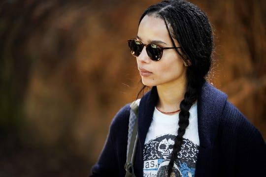 "Zoe Kravitz as Bonnie on ""Big Little Lies."""