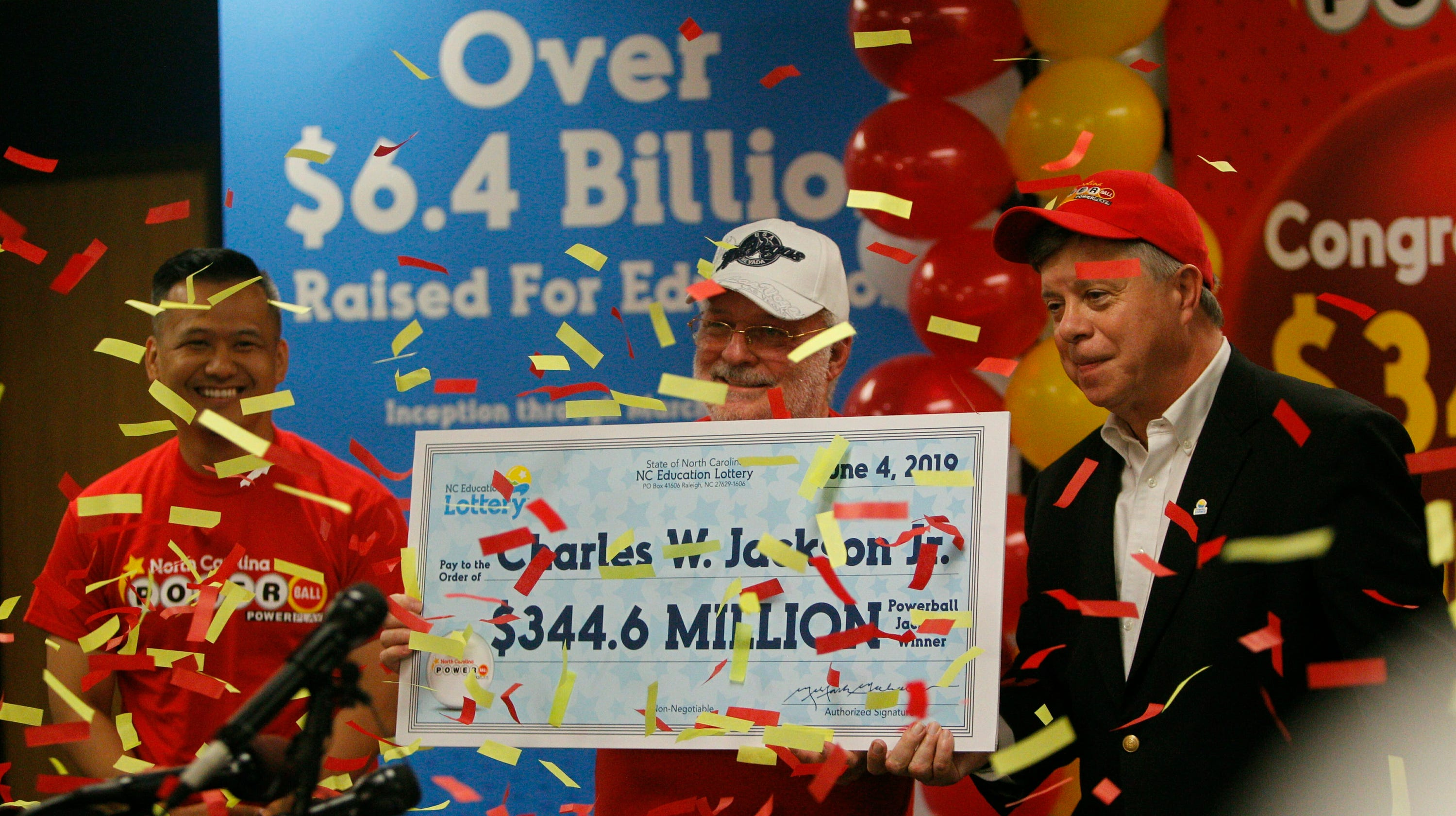 North Carolina Powerball winner finds good fortune with