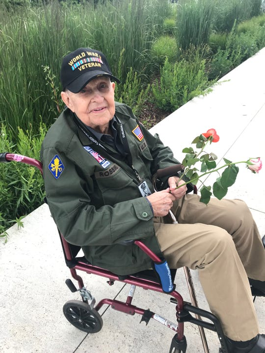 K.T. Robbins, a World War II veteran from Mississippi, returned to Normandy on June 5, 2019, for the 75th anniversary of D-Day. Robbins was one of the U.S. soldiers who stormed the shores in France in 1944 and changed the course of the war.