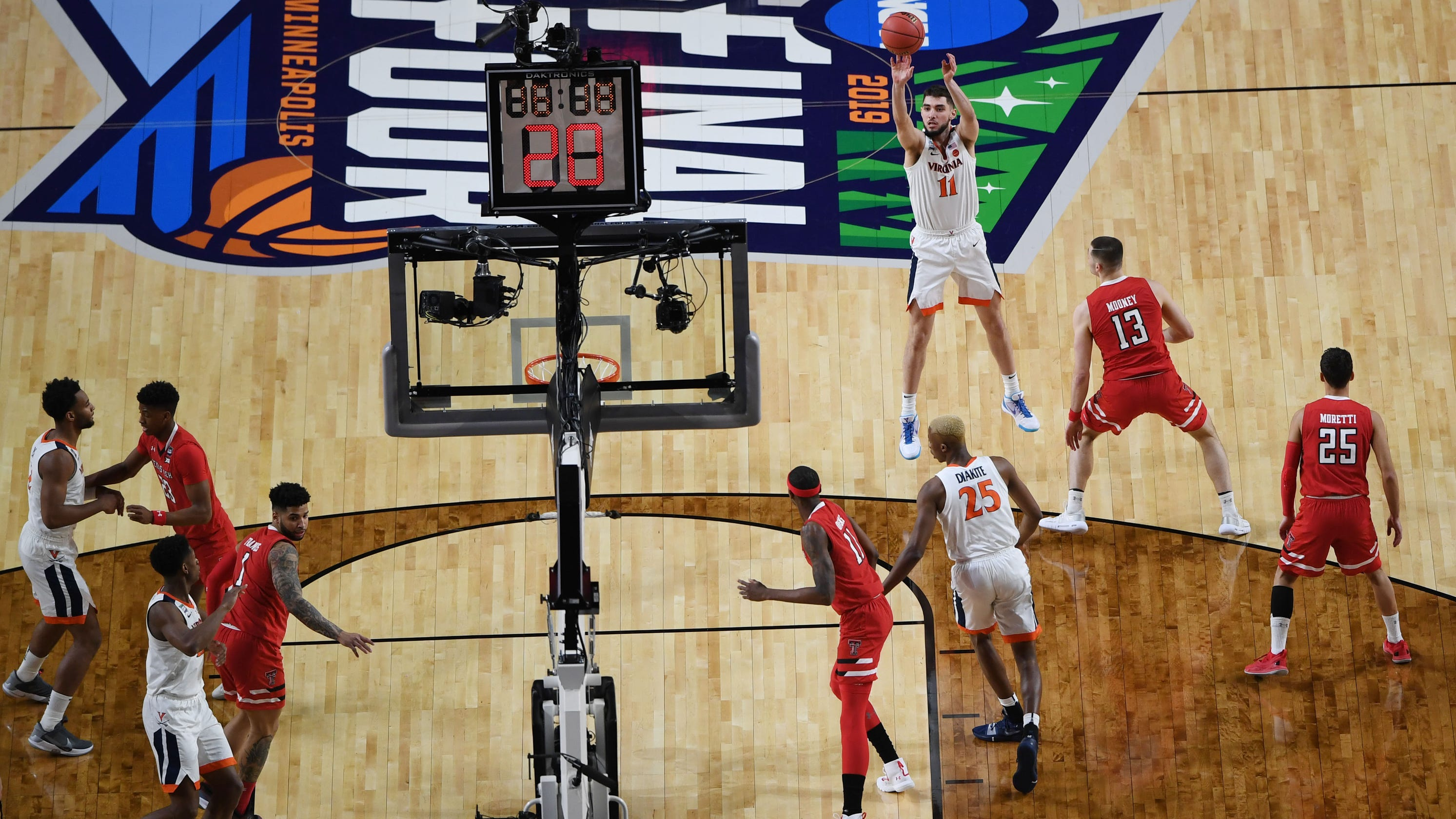 College Basketball Three-point Line Moving To