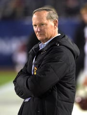 Former Southern California Trojans athletic director Pat Haden in a 2015 photo.
