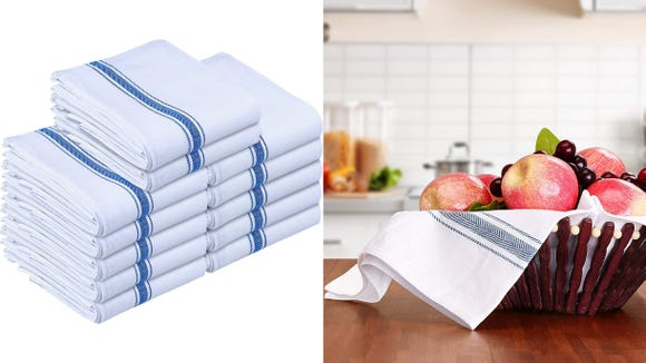 These towels can double as decorations or napkins.