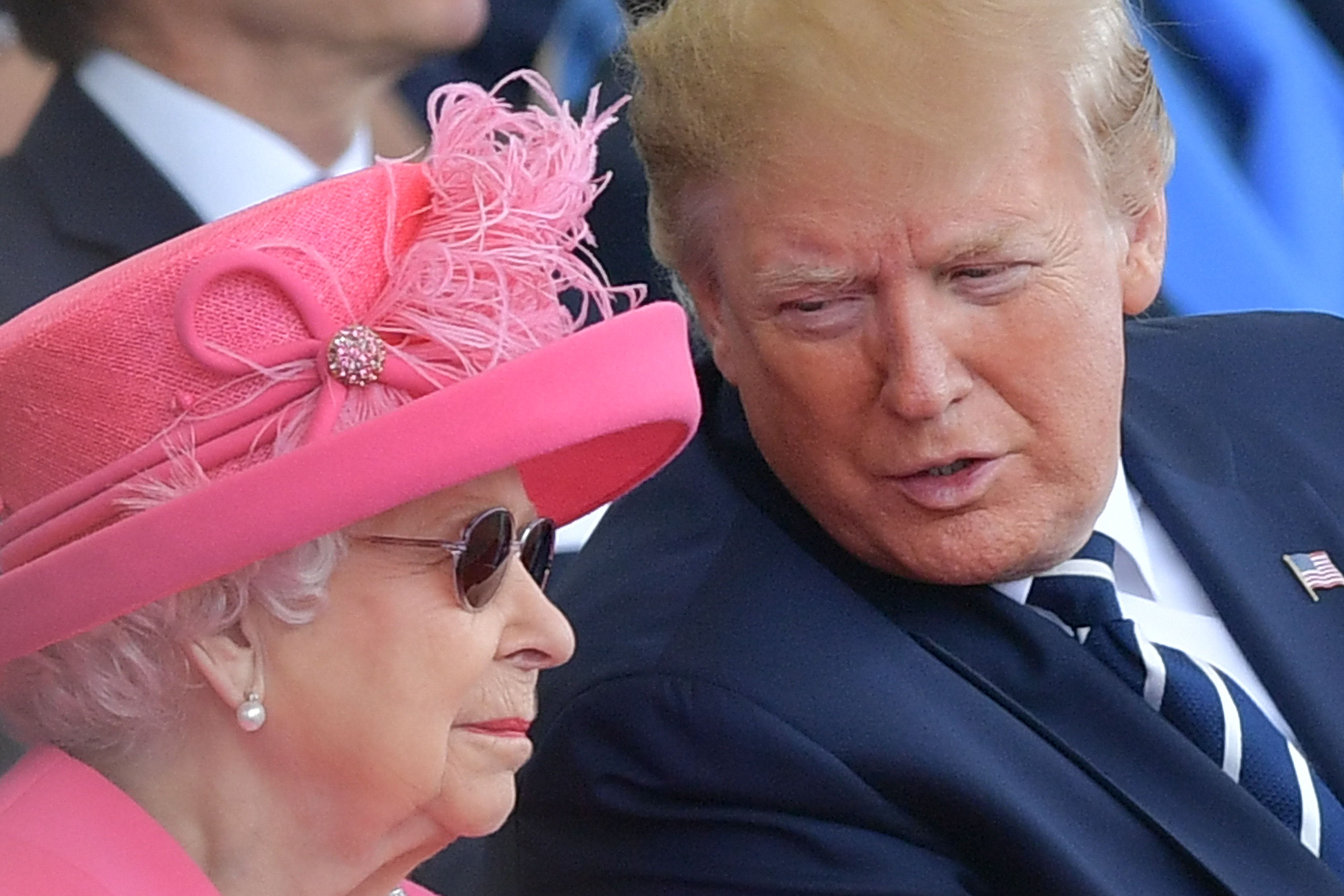 Trump joins Queen Elizabeth II for D-Day anniversary in Portsmouth